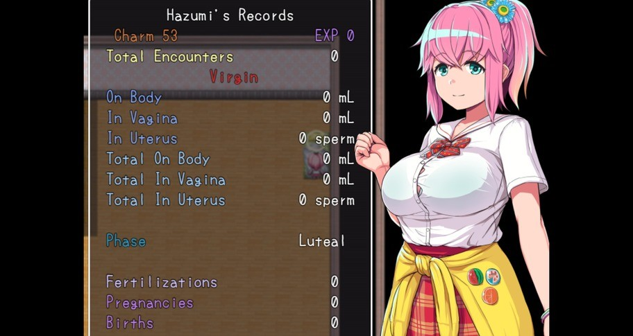 Hazumi and the Pregnation