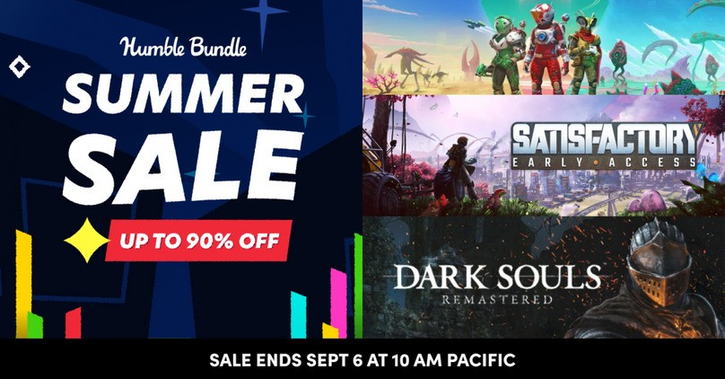 Humble Store Summer Sale 2021