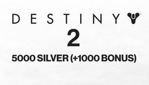 Destiny 2 - 5000 Silver (+1000 Bonus)