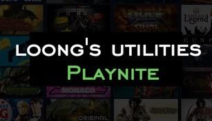 loong's utilities Playnite