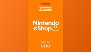 Nintendo eShop Gift Card 10 CAD