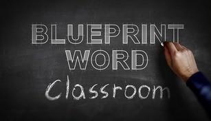 Blueprint Word: Classroom