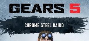 Gears 5 - Chrome Steel Baird