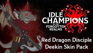 Red Dragon Disciple Deekin Skin Pack