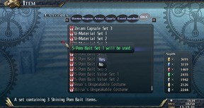 The Legend of Heroes: Trails of Cold Steel II - Shining Pom Bait Set 1