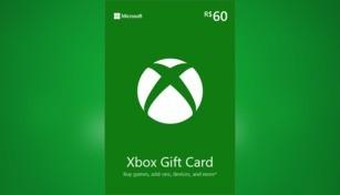 Xbox Live Gift Card 60 BRL