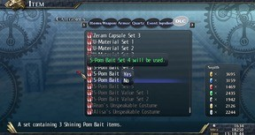 The Legend of Heroes: Trails of Cold Steel II - Shining Pom Bait Set 4