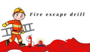 Fire escape drill