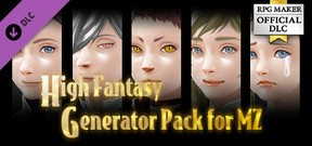 RPG Maker MZ - High Fantasy Generator Pack for MZ