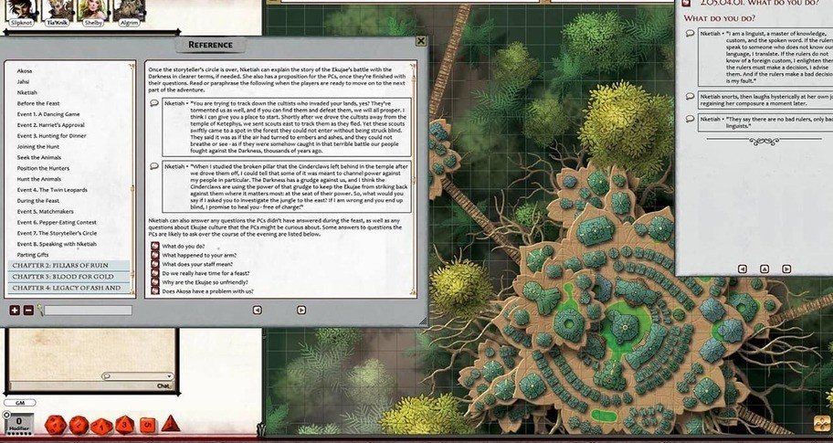 Fantasy Grounds - Pathfinder 2 RPG - Age of Ashes AP 2: Cult of Cinders (PFRPG2)