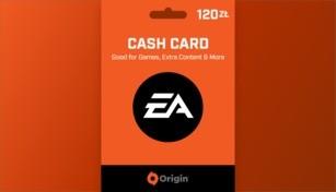 EA Origin Cash Card 120 PLN