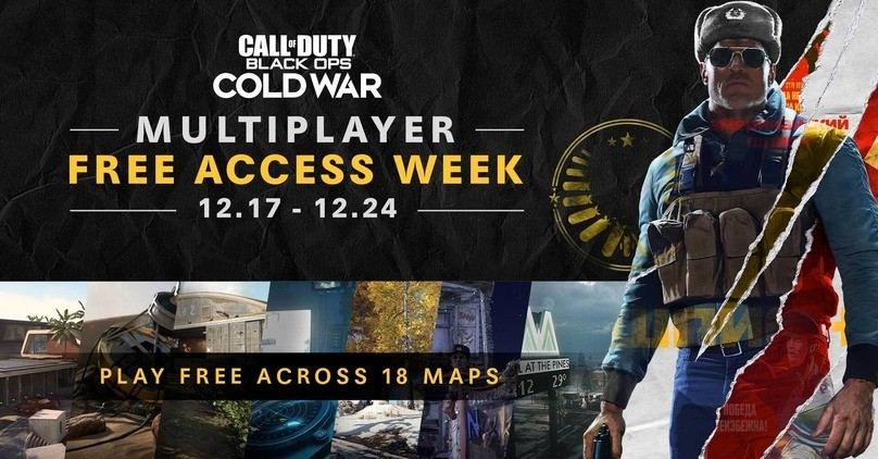 Free Week - Call of Duty: Black Ops Cold War Multiplayer