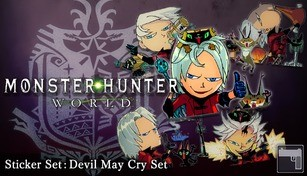 Monster Hunter: World - Sticker Set: Devil May Cry Set