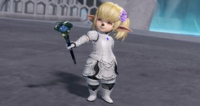 DFF NT: Wedding Dress App. Set & 5th Weapon for Shantotto