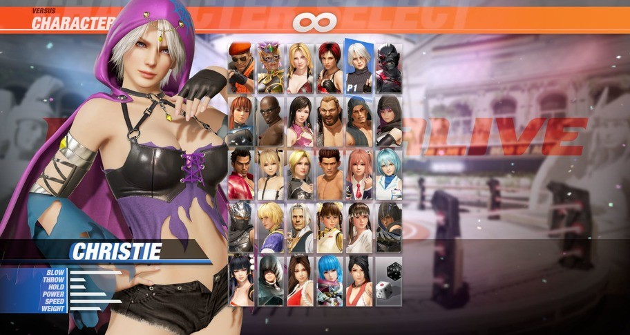 DOA6 Witch Party Costume - Christie