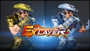 FIGHTING EX LAYER - Color Gold/Silver: Jack