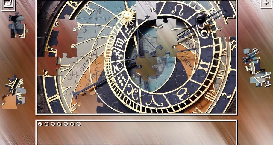 Super Jigsaw Puzzle: Generations - Clocks