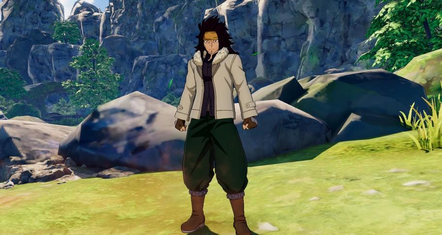 "FAIRY TAIL: Gajeel's Costume ""Anime Final Season"""
