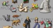 RPG Maker MZ - Modern Day Menace Battlers