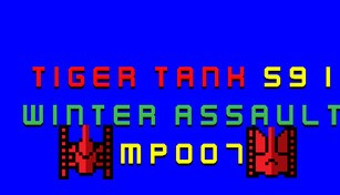 Tiger Tank 59 Ⅰ Winter Assault MP007