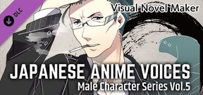 Visual Novel Maker - Japanese Anime Voices:Male Character Series Vol.5
