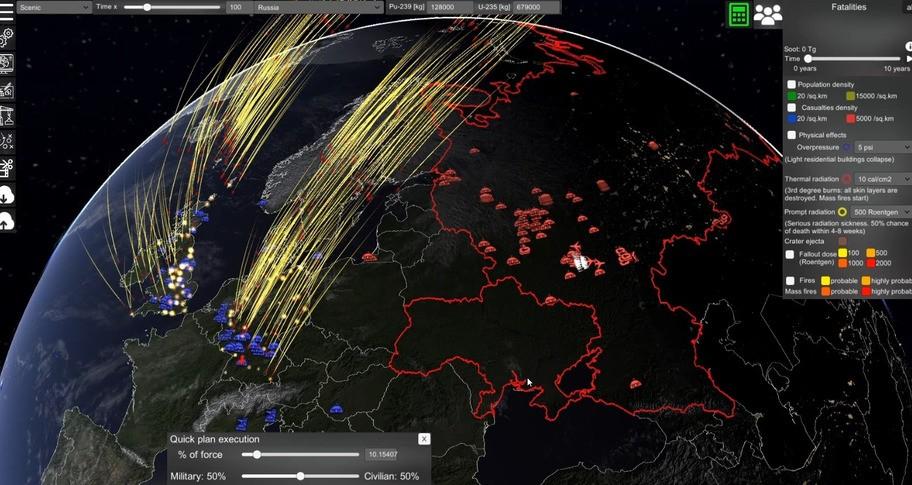 Nuclear War Simulator