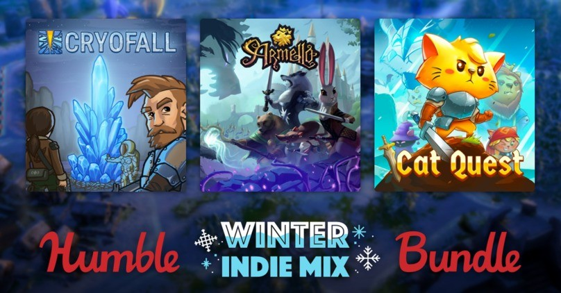 Humble Winter Indie Mix Bundle