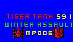 Tiger Tank 59 Ⅰ Winter Assault MP006