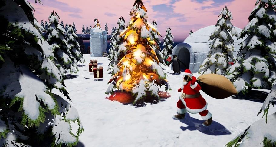 Santa's Story of Christmas