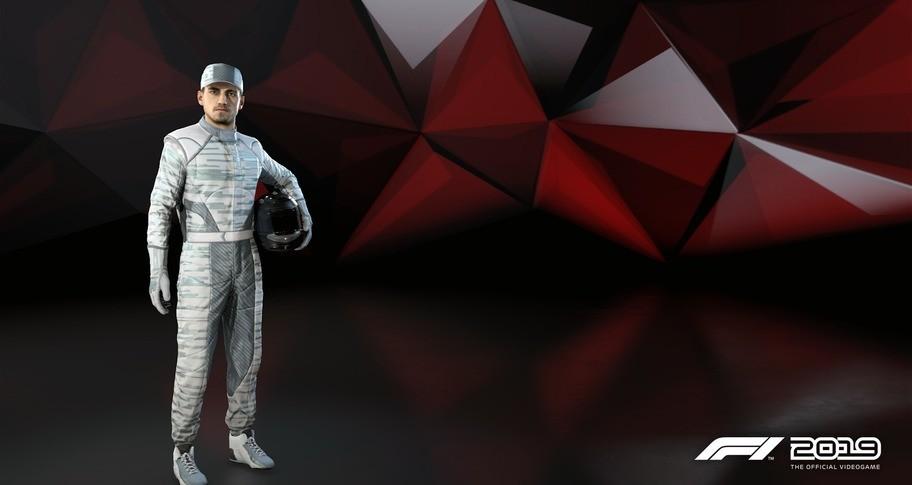 F1 2019: Suit 'Digital Camo'