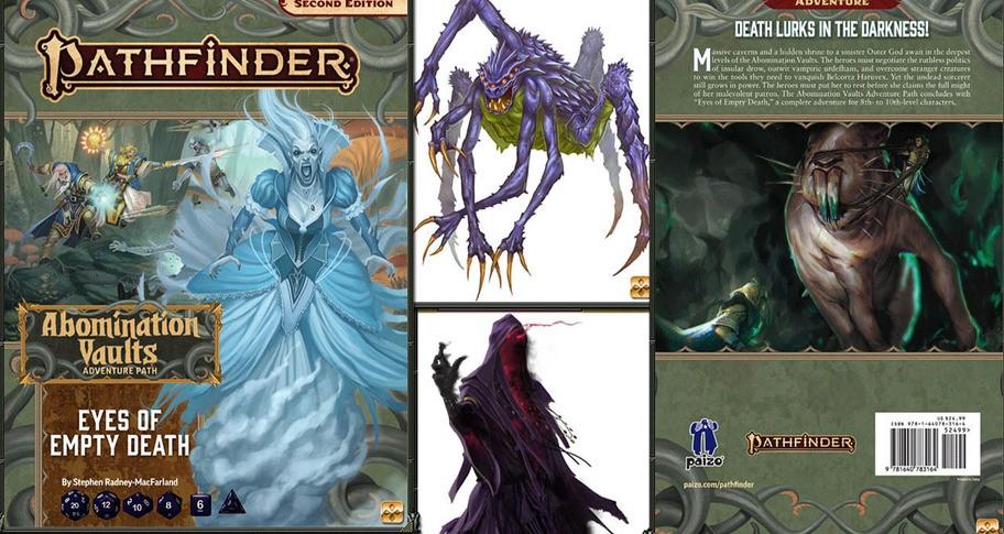 Fantasy Grounds - Pathfinder 2 RPG - Pathfinder Adventure Path #165: Eyes of Empty Death (Abomination Vaults 3 of 3)