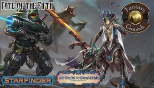 Fantasy Grounds - Starfinder RPG - Attack of the Swarm AP 1: Fate of the Fifth (SFRPG)