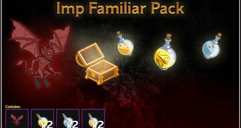 Idle Champions - Imp Familiar Pack