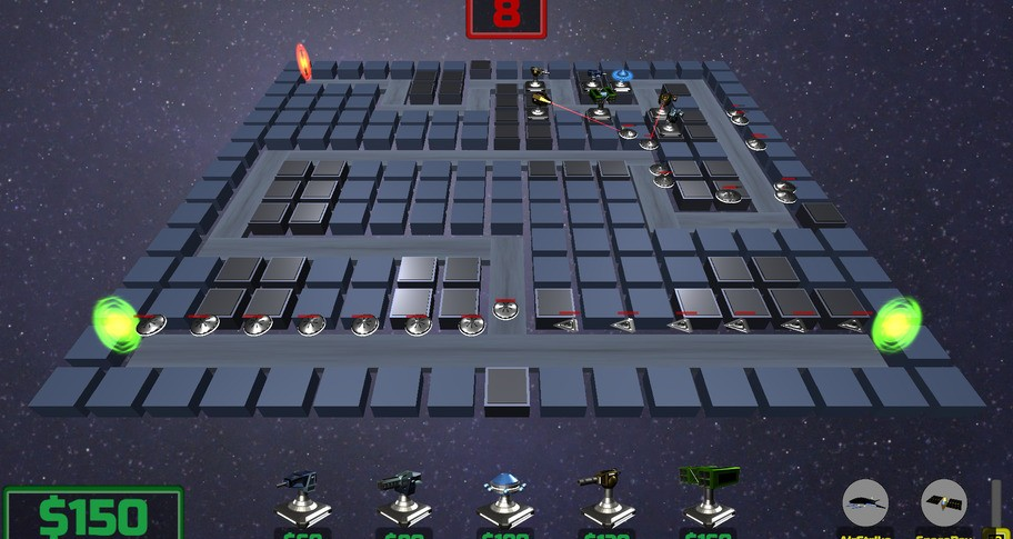 U.F.O. K.O. Tower Defense