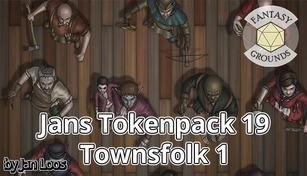 Fantasy Grounds - Jans Tokenpack 19 - Townsfolk 1