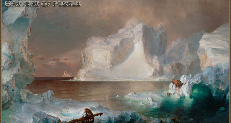 Masters of Puzzle - The Icebergs by F. E. Church