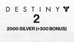 Destiny 2 - 2000 Silver (+300 Bonus)