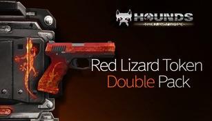 Red Lizard Token Double Pack