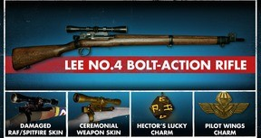 Zombie Army 4: Lee No. 4 Bolt-Action Rifle Bundle