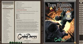 Fantasy Grounds - Traps, Trammels, and Triggers - Nefarious Devices for 5E