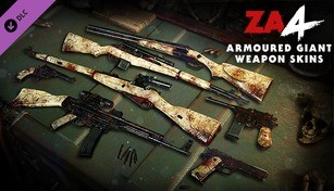 Zombie Army 4: Armoured Giant Weapon Skins