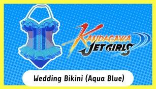 Kandagawa Jet Girls - Wedding Bikini (Aqua Blue)