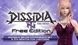 DFF NT: Midnight Mauve Appearance Set & 5th Weapon for Lightning