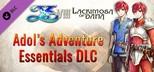 Ys VIII: Lacrimosa of DANA - Adol's Adventure Essentials DLC