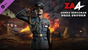 Zombie Army 4: Zombie Gentleman Dress Uniform Character