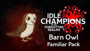 Idle Champions - Barn Owl Familiar Pack