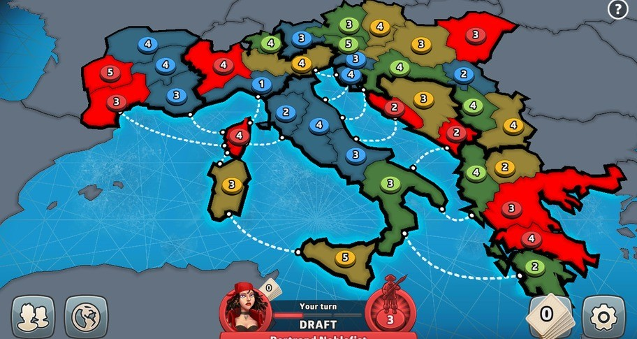 RISK: Global Domination - European Conquest