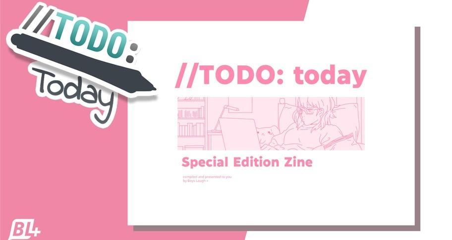 //TODO: today Special Edition Zine