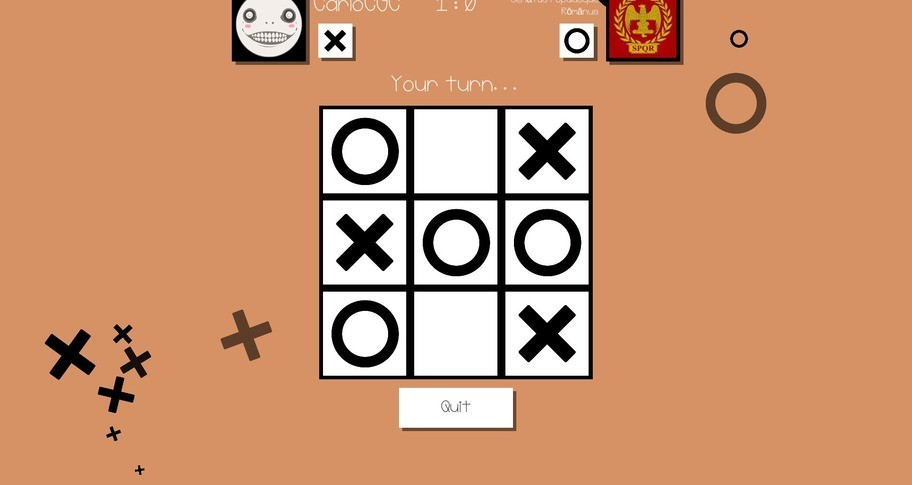 All For Nought - Tic Tac Toe