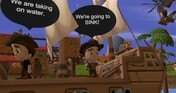 Archipelago: Navigable VR Comic